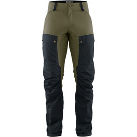 Fjällräven Keb Pantalon Homme, dark navy/light olive